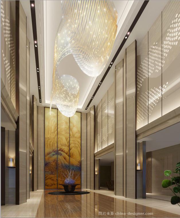 交流中心-四川佳德建筑工程有限公司的设计师家园-艺术中心,新中式