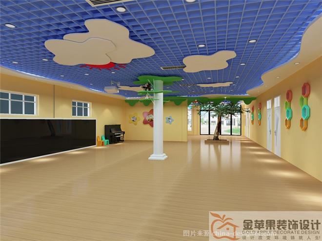 老城幼儿园-濮阳市金苹果装饰设计工程有限公司的设计师家园-幼儿园