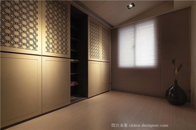 新中式影��k�_幽梦影-思谬空间设计的设计师家园-老年公寓,新中式,沉稳庄重,黑色