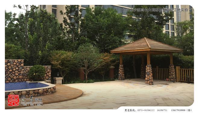 别墅庭院设计-河南梵意园林景观设计有限公司的设计师家园-独栋,欧式