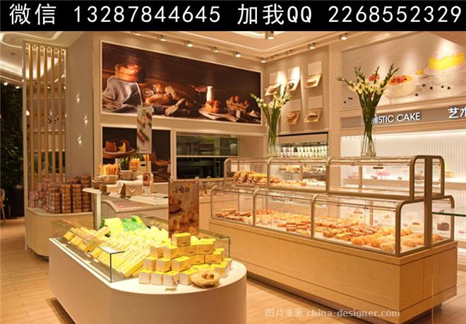 欧式,面包房装饰设计 面包店 甜品店 点心店 食品店 特产店 糕点店