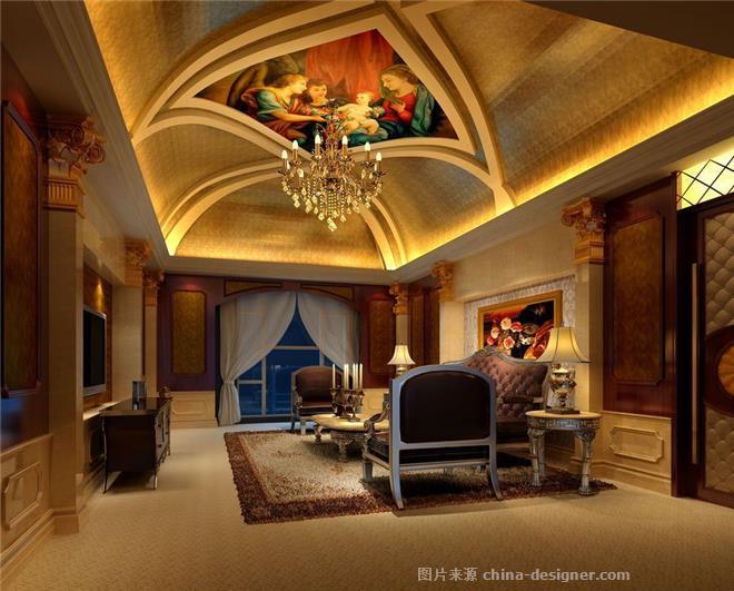 哈尔滨万佳大酒店设计-河南酒店设计有限公司的设计师家园-政务酒店