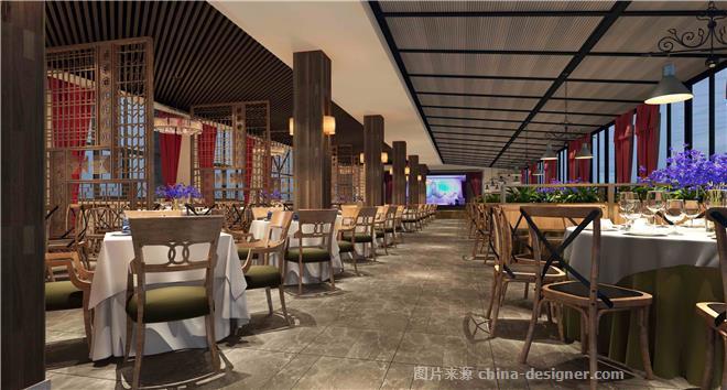农家乐主题餐厅-姜辉的设计师家园-主题餐厅,农家菜,传统中式,红色