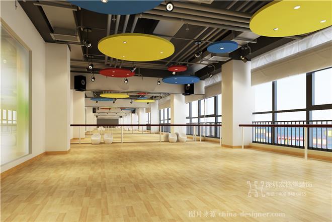 鄭州北藝創想少兒藝術培訓學校裝修設計案例-鄭州專業辦公室裝修公司