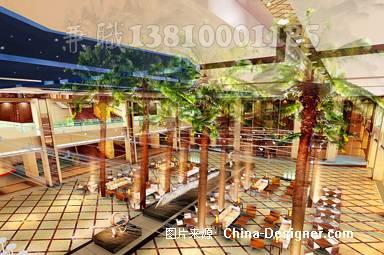 江西宜昌东山酒店大堂1-崔巍的设计师家园-酒店宾馆