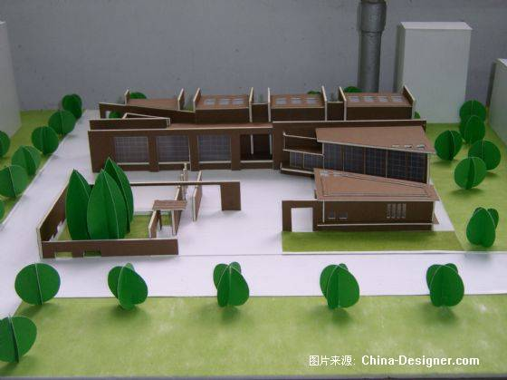 建筑工作模型手工制作