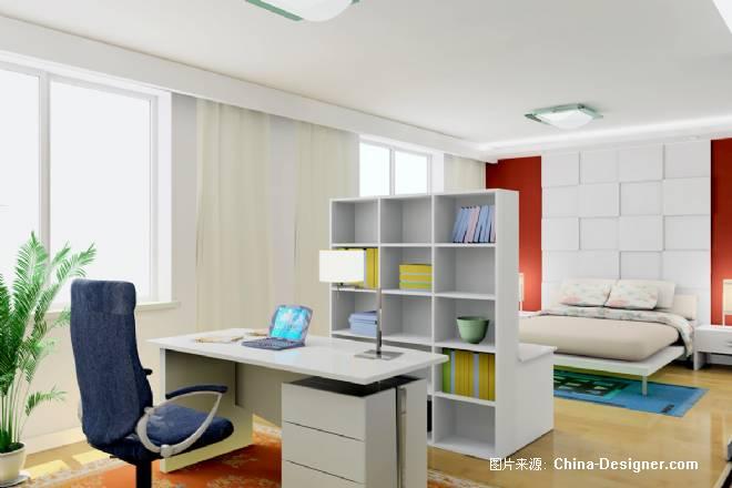 09-阿爽的设计师家园-三居,卧室,白色,现代图片