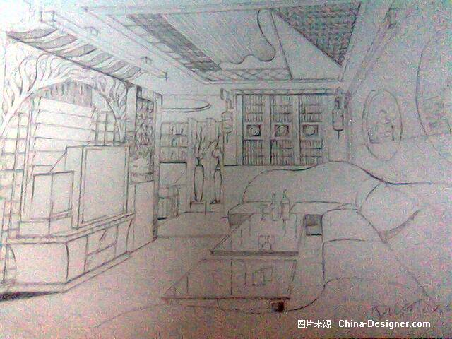 手绘ktv-杜鑫的设计师家园-欧式图片