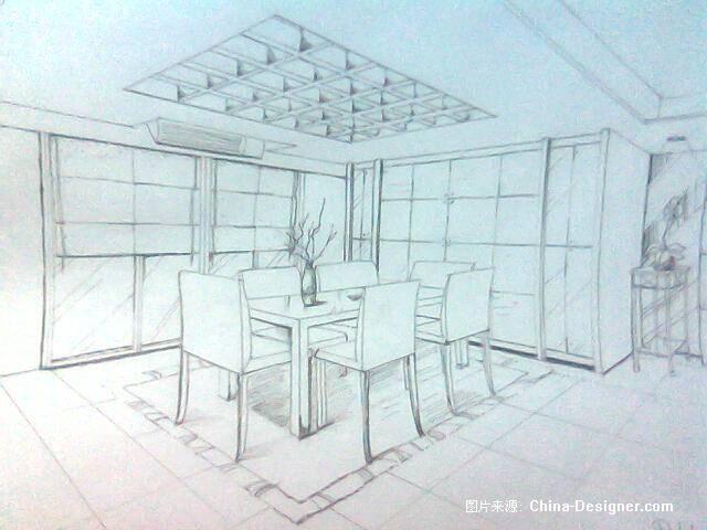 手绘餐厅-杜鑫的设计师家园-餐厅