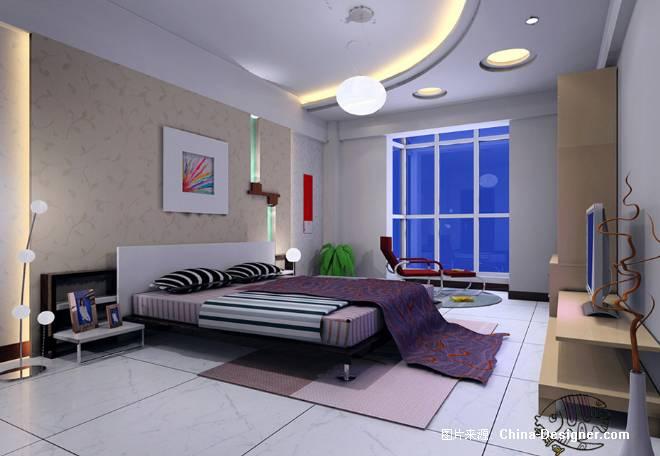 主卧室&1-陈燕的设计师家园-现代