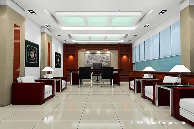 《总经理办公室》-设计师:朱增光.设计师家园-朱增光