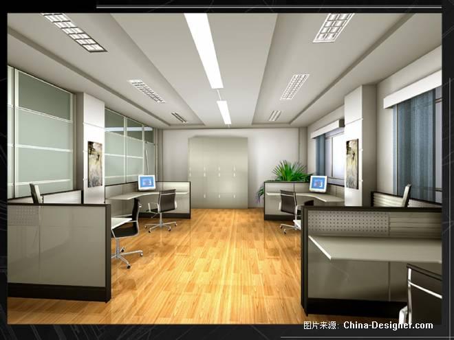 办公室 效果图-夏漫的设计师家园-沉稳