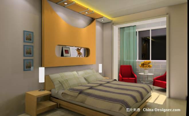 主卧室-王娟的设计师家园-紫色,现代