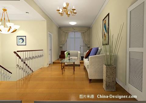 二楼休闲厅-玉洁的设计师家园-欧式