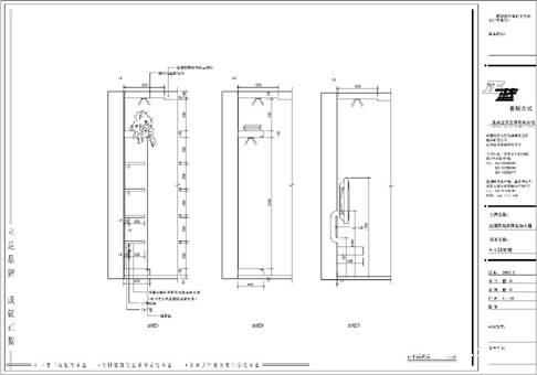 电视墙结构剖面图-野草的设计师家园-现代