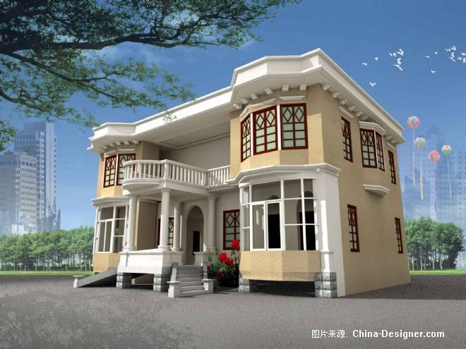 别墅外观-杨睿的设计师家园-欧式