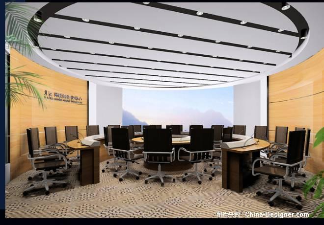 四层圆形会议室-2-董璟的设计师家园-办公室