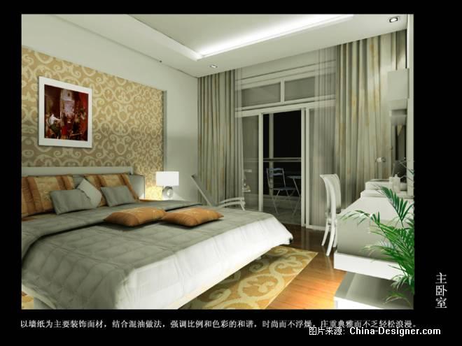主卧室--方案二-董璟的设计师家园-卧室,黄色,欧式,现代