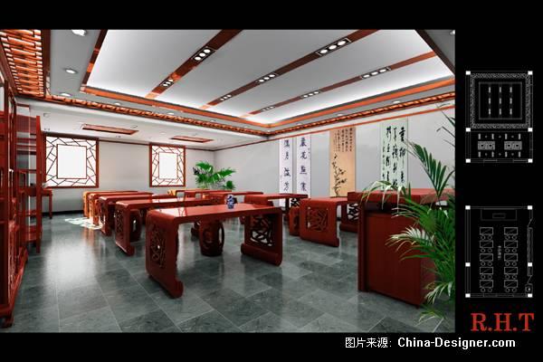 书法教室-高顺利的设计师家园-中式图片