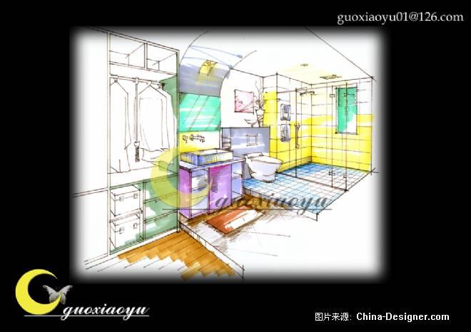 室内环境设计手绘图分享展示