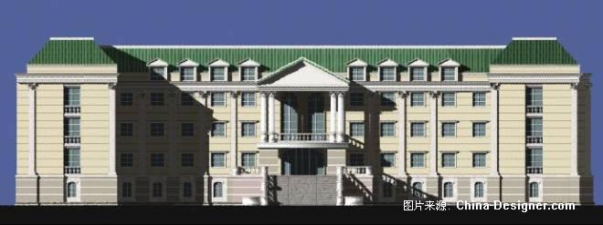 欧式办公楼-吴念东的设计师家园-欧式