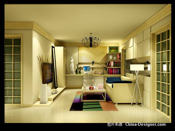 一点透视图-kiko的设计师家园-现代