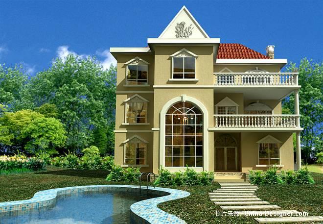 别墅外观-好家庭装饰工程有限公司的设计师家园-欧式