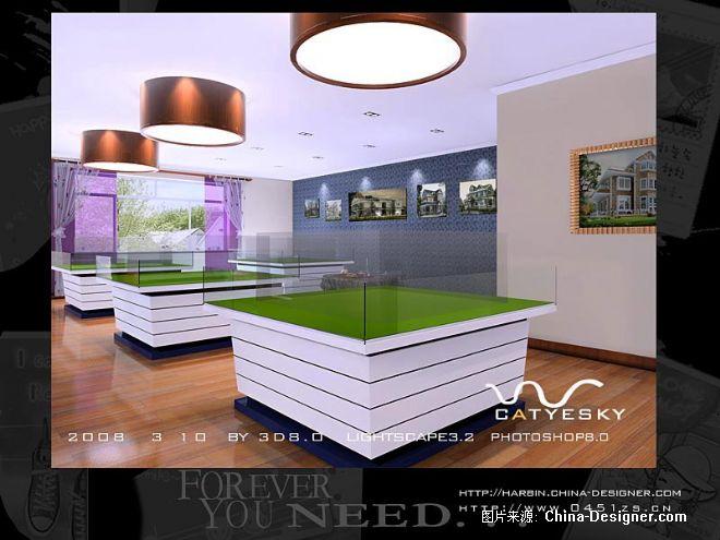 欧式售楼处-迷雾设计的设计师家园-黄色,vip室,欧式,售楼处