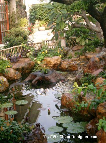 局部水景小品2-广州市英德园艺景观设计有限公司的设计师家园-绿色图片