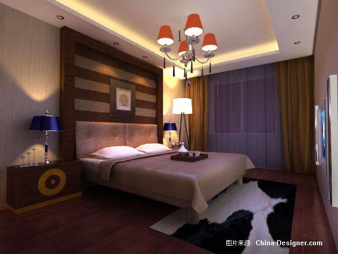 主卧室-朱显辉的设计师家园-现代,欧式