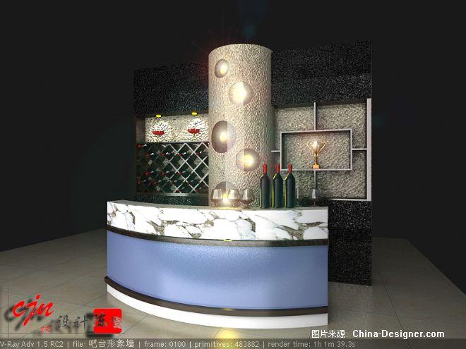 吧台形象墙; 陈佳宁的设计师家园; 美发店吧台图片图片下载分享; 图片