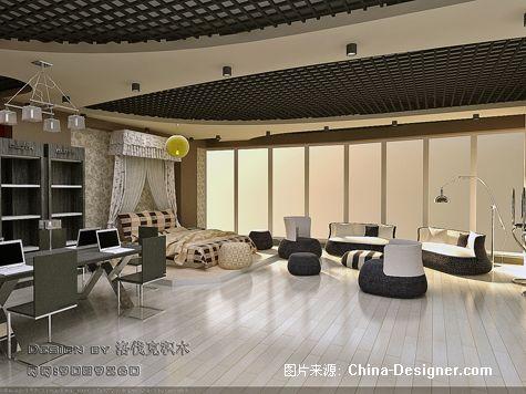 写字楼 家纺展厅04-青岛装饰设计的设计师家园-办公室,黑色,现代