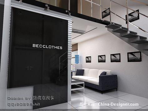 写字楼 家纺展厅10-青岛装饰设计的设计师家园-办公室,黑色,现代