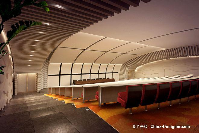 三层阶梯会议室-沈磊的设计师家园-华侨城会议中心