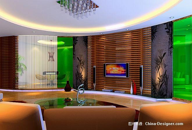 方木作品2-韦奉标的设计师家园-客厅,现代