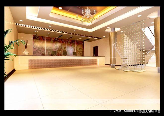 澡堂大厅装修效果图