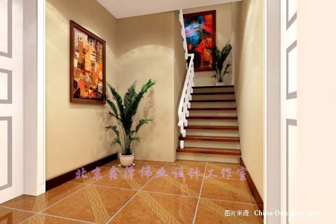 《楼梯间一》-设计师:老赵