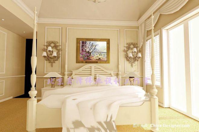 一层老人房2   欧式装修效果图; 一层老人房2-老赵的设计师家园-赵工