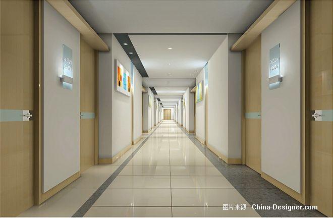 02走廊透视图 副本-陈达顺的设计师家园-现代