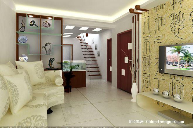 《一楼客厅博物架》-设计师:崔兵伟