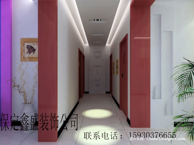 走廊-冲的设计师家园-玄关; 设计师家园-室内设计,效果图,装修