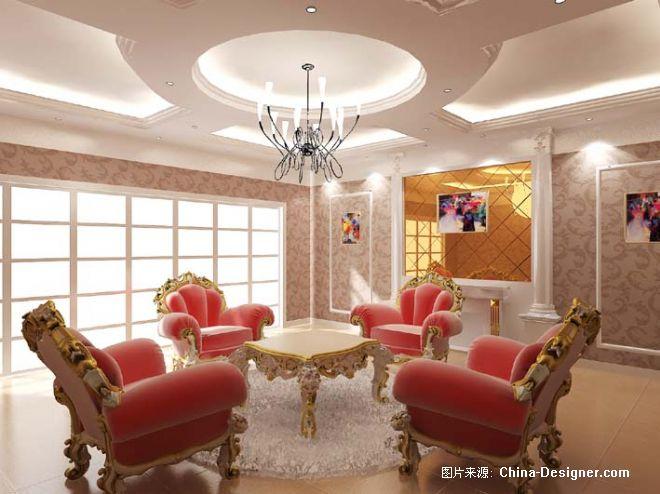 欧式休闲厅-谯华的设计师家园-欧式