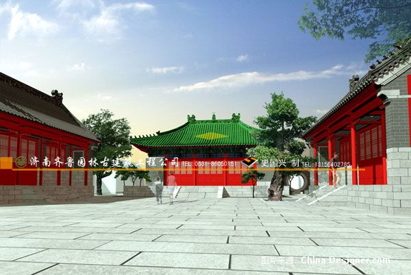 济南兴福寺维修工程-史国兴的设计师家园-古建筑