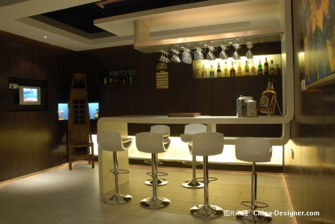 西安亚建高尔夫球场别墅酒吧-陕西新大空间装饰设计有限公司的设计师