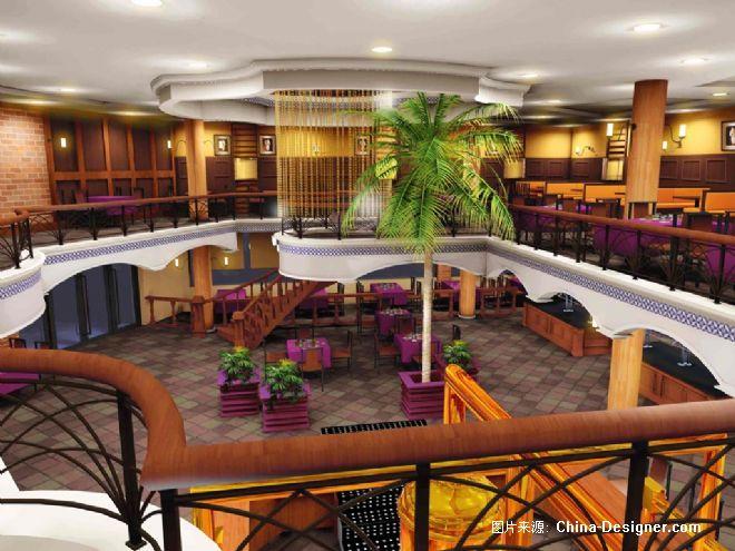 海拉尔华融酒店自助西餐厅-迟立滨的设计师家园-欧式