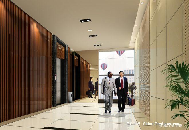 电梯间设计-黄在军的设计师家园-中式图片