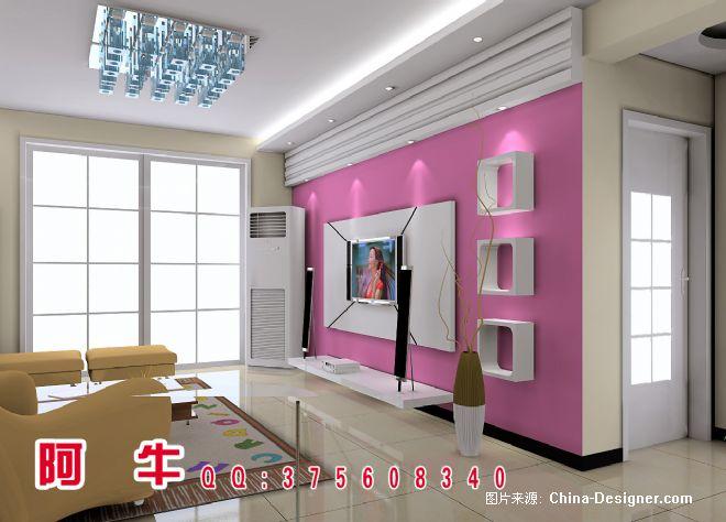 电视墙-冯海坤的设计师家园-现代