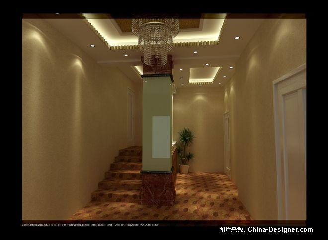 《雪锋家庭宾馆过道1》-设计师:冯天航.设计师家园-冯