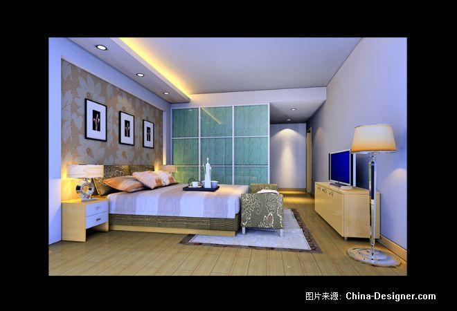 《向局卧室正1》-设计师:向建平.设计师家园-←两点