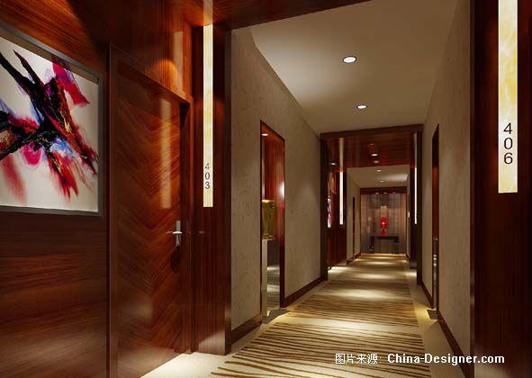 宁波某酒店客房走廊-单侃云的设计师家园-欧式